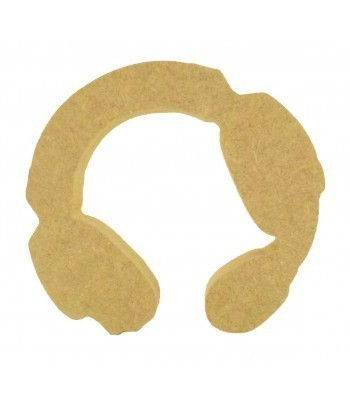 18mm Freestanding MDF Gaming Headset Shape